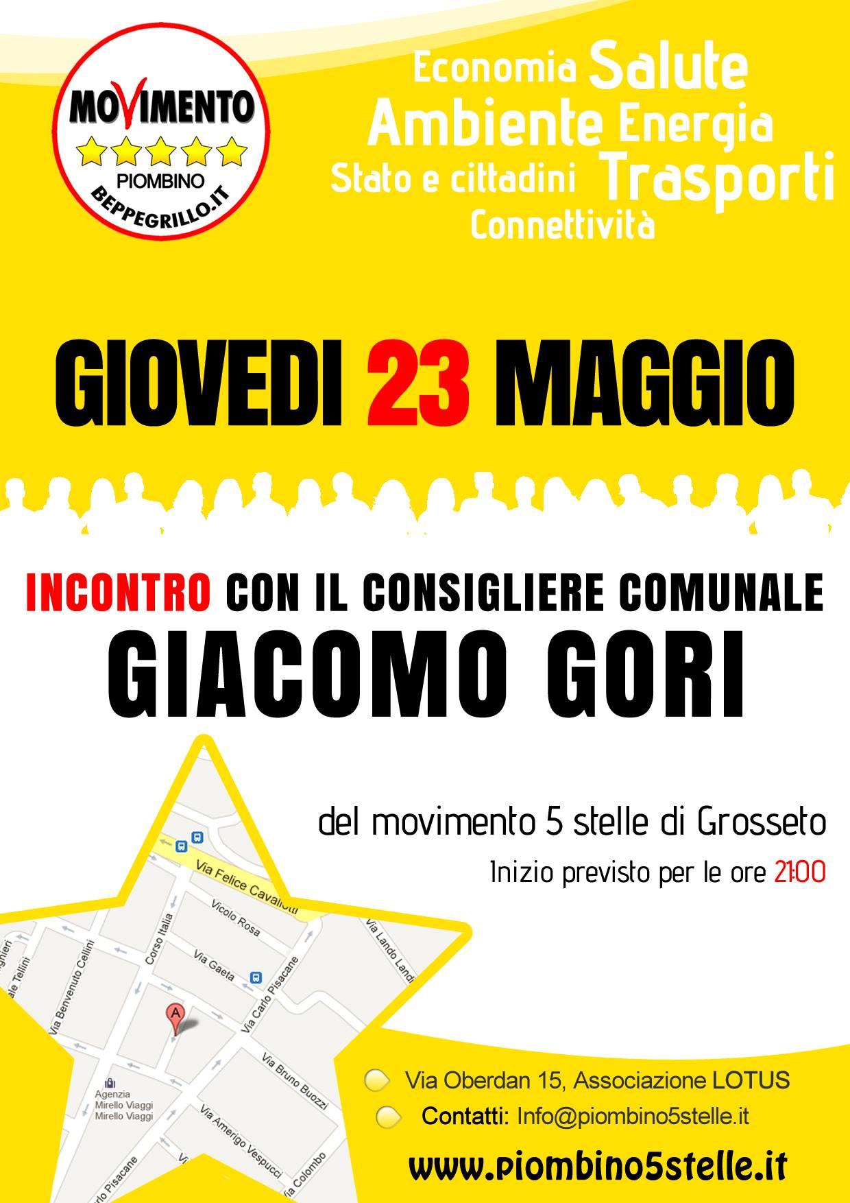 incontro Giacomo Gori