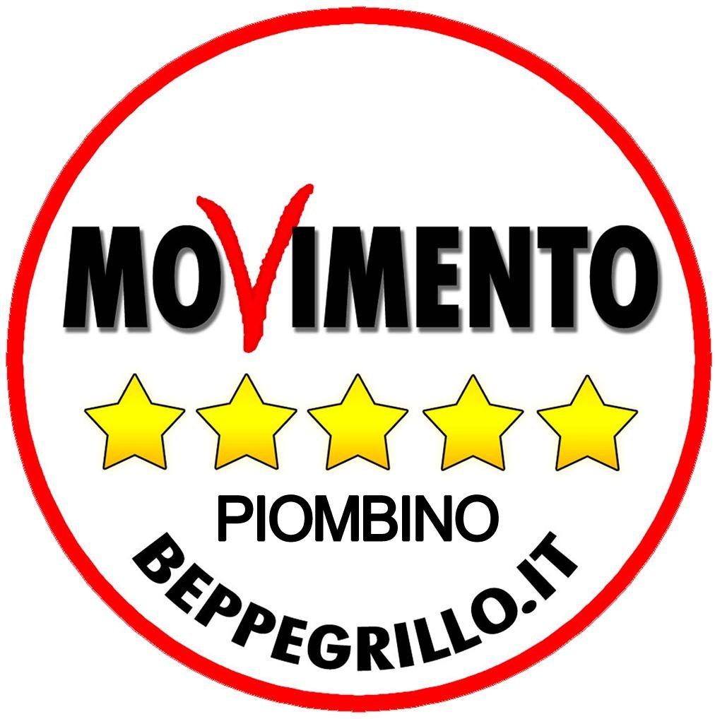 Logo M5S Piombino new