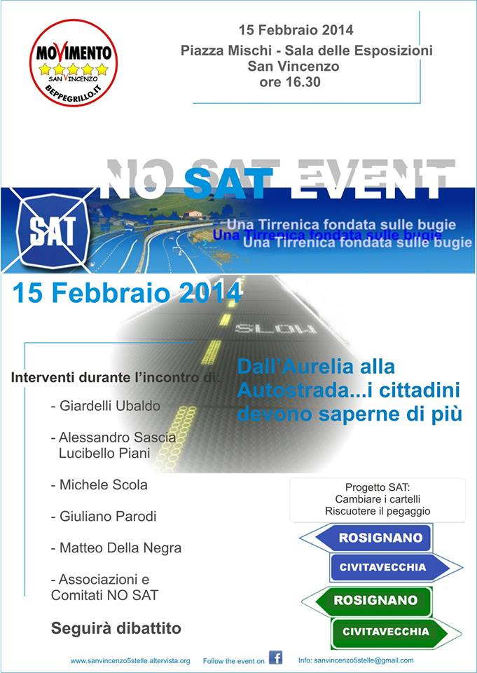 evento 15 febbraio 2014