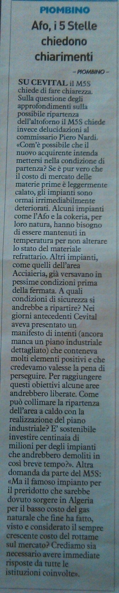 Dal Tirreno, 22/02/2015